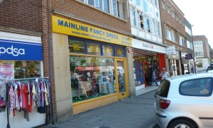 Exeter retail unit for rental