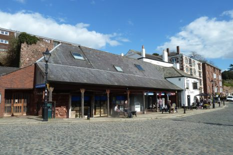 shop to let Exeter quay (4)