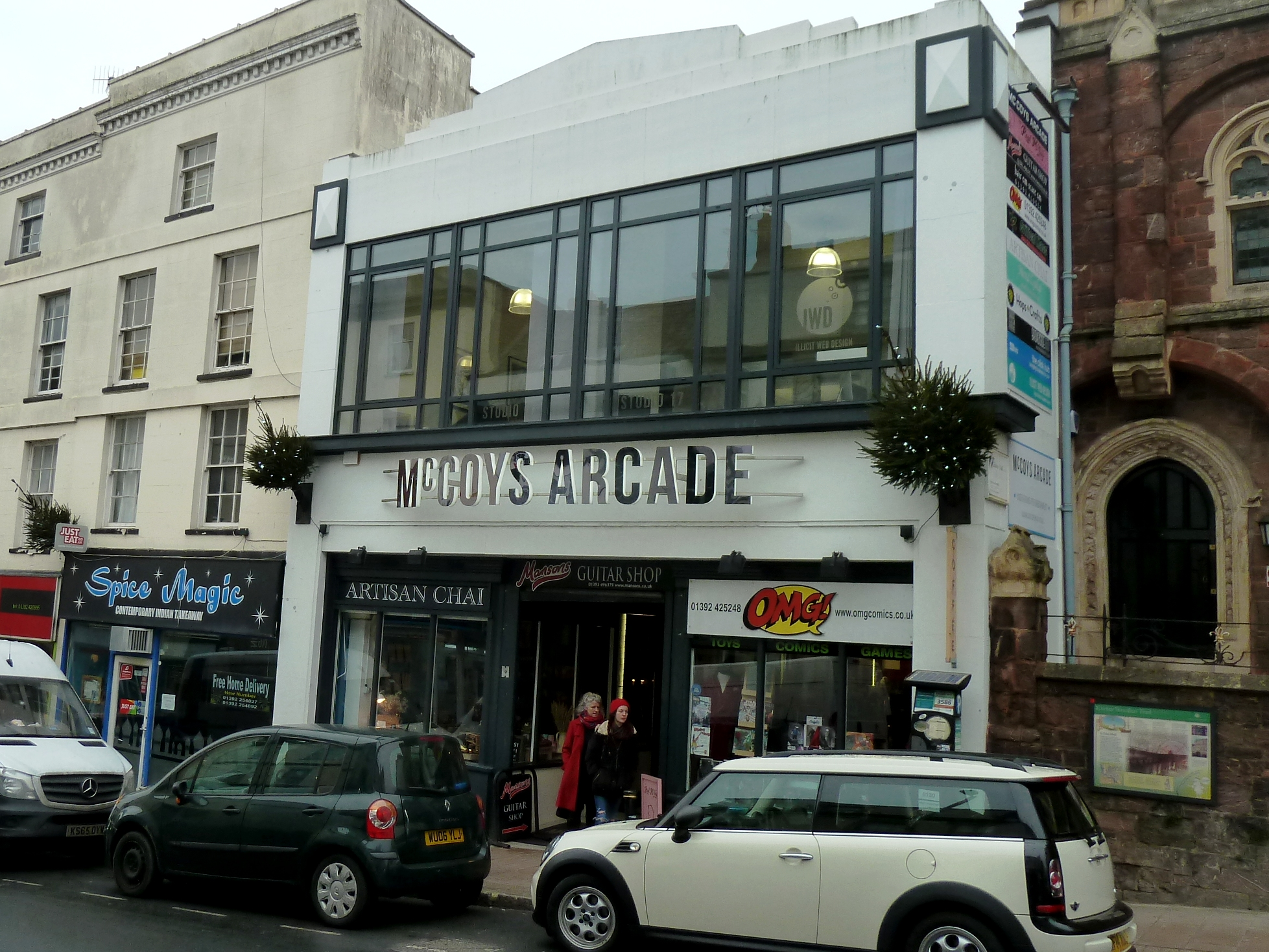McCoys Arcade Retail Units for rent Exeter - Turner Locker