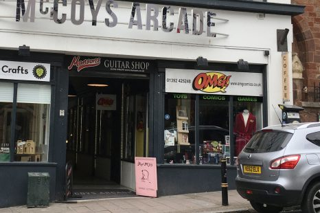 Unit 1-3 McCoys Arcade, Exeter TO LET